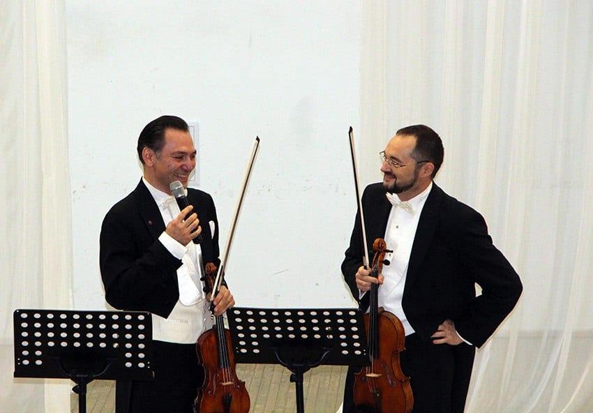 Карэн Шахгалдян (слева) и Максим Новиков. Фото с сайта kgfptz.ru