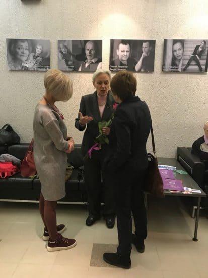 Сильвия Сондецкис (в центре) после концерта