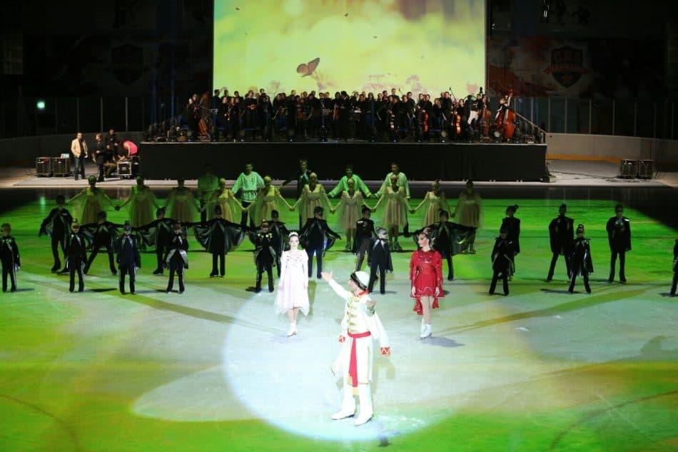 В Кондопоге успешно прошла российская премьера балета на льду «Жар-птица»