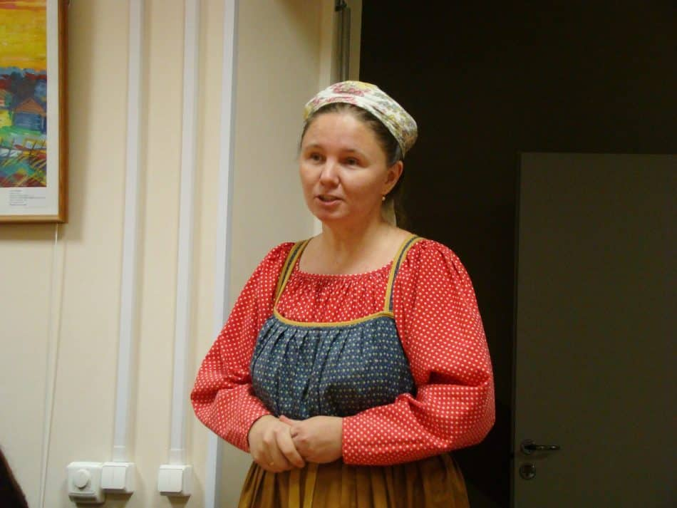 Наталья Михайлова, руководитель фольклорно-этнографического ансамбля музея «Кижи»
