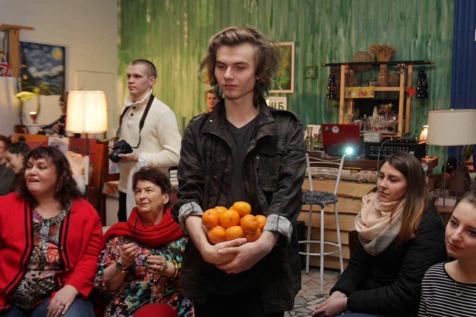 Поэтический корпоратив. Фото Марии Гудковой