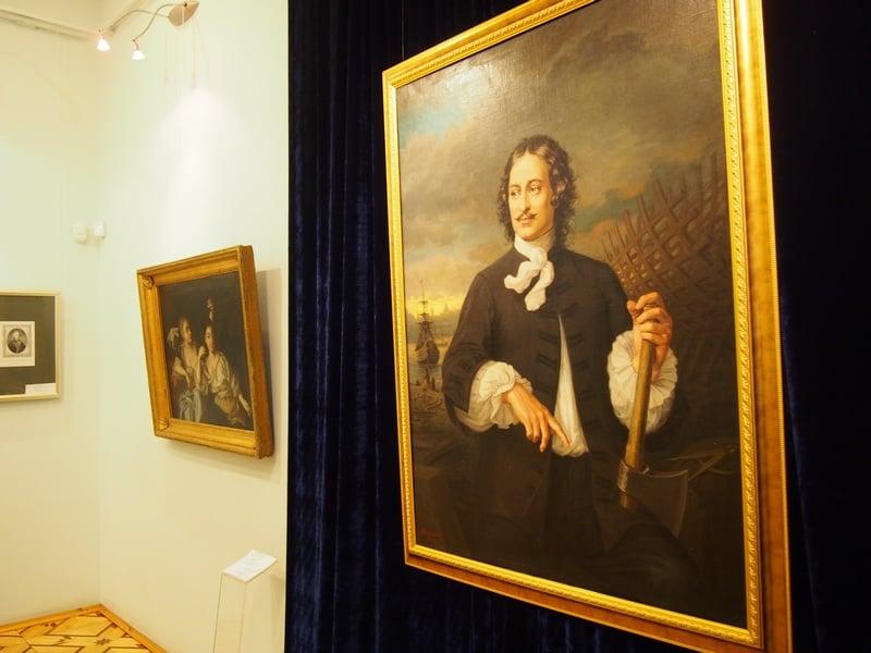 Портрет Петра кисти шведского мастера XIX века А. Толяндера