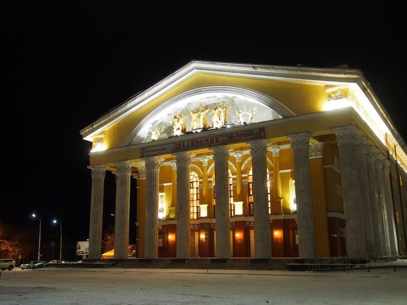 Предновогодний Петрозаводск. Фото Ирины Ларионовой