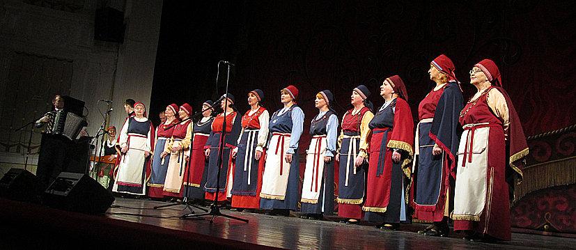 Карельский народный хор «Ома пайо»