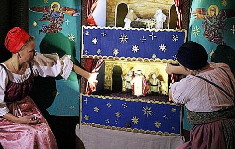 Выставка «Святки и фольклорный театр: игры, обряды, представления»