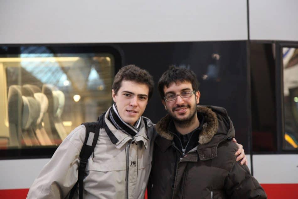 Александр с Франческо Севилья