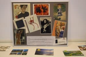 Открывается выставка открыток из коллекции Ирины Ларионовой «Лети с приветом!»