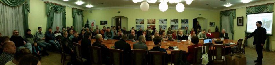 Аншлаг на презентации в Национальном музее Карелии. Фото Дениса Кузнецова