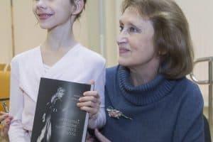 Наталья Гальцина на презентации своей книги. Фото Виталия Голубева