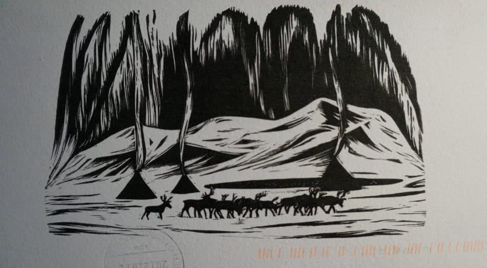 Новогодние и рождественские открытки из коллекции Ирины Ларионовой