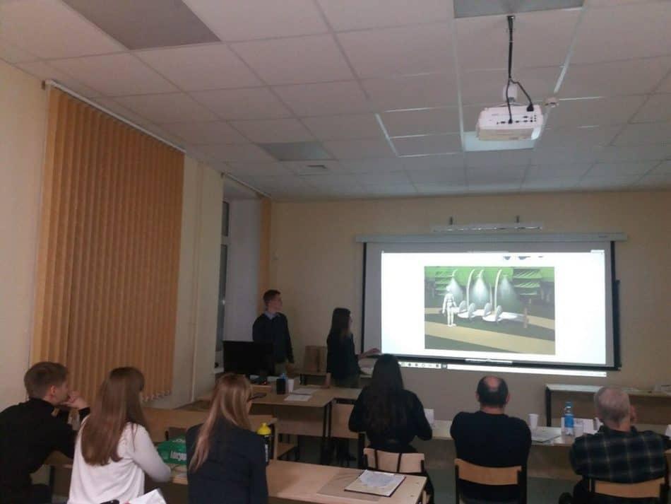 Проект «Малые архитектурные формы для корпусов и общежитий ПетрГУ»