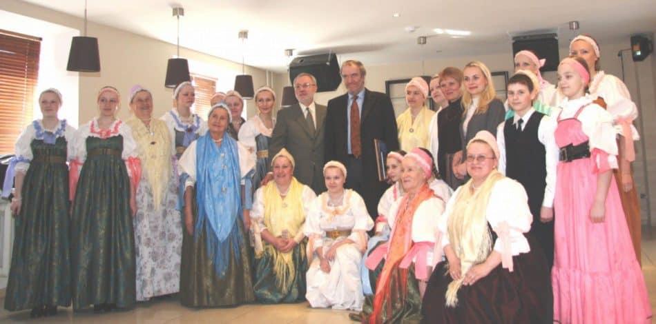 Поморский народный хор с Валерием Гергиевым. Фото из архива хора
