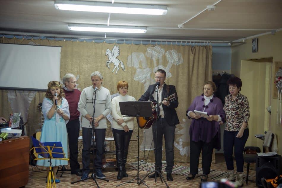 В литературном клубе «Альманах» представили музыкально-поэтическую программу