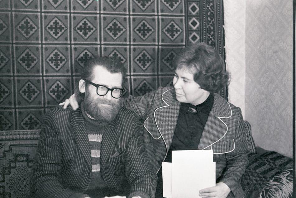 Фолке Ниеминен и Серафима Полякова