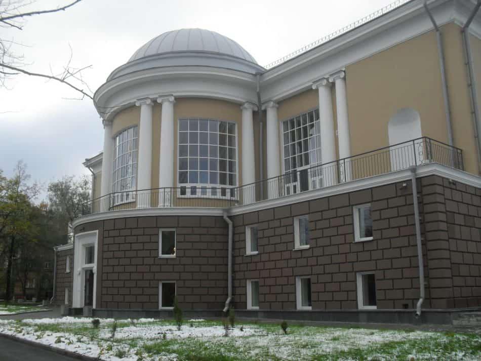 Национальная библиотека РК. Фото Сергея Маркова