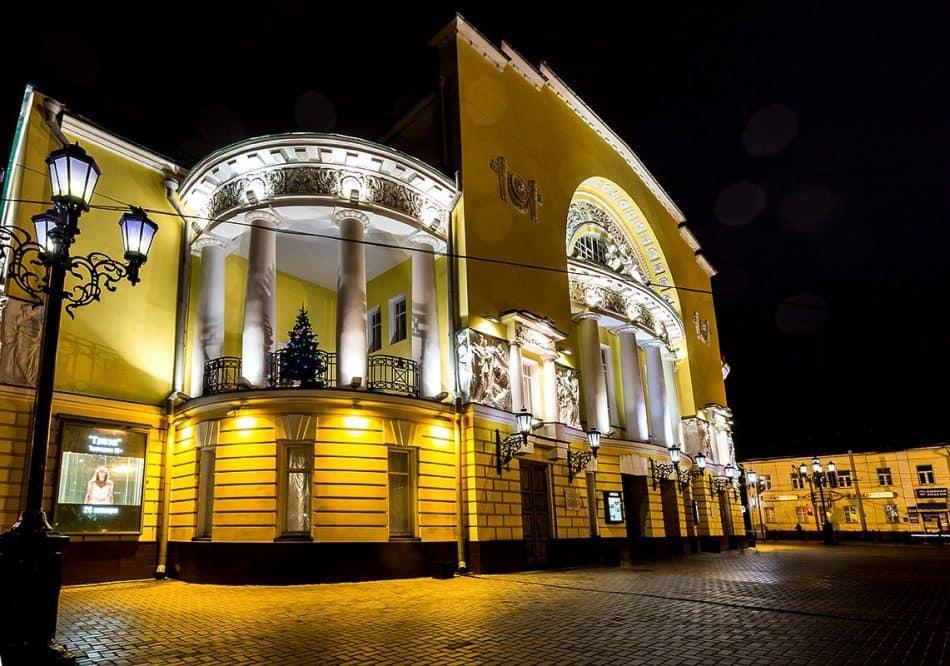 Ярославский академический театр драмы имени Ф. Волкова. Фото Юлии Утышевой