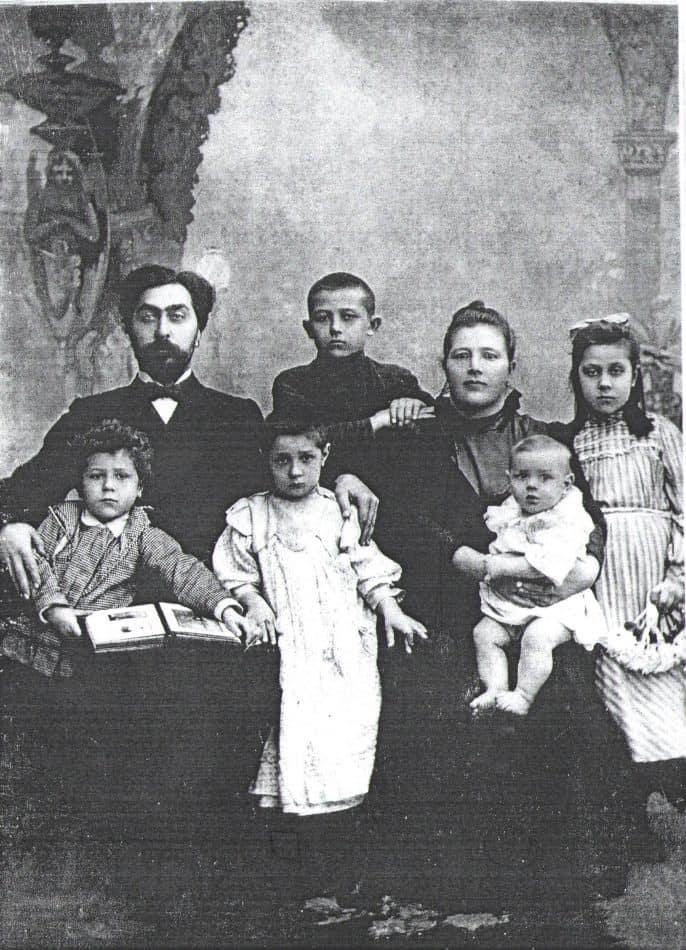 Семья Григория Ксенофонтовича Мячина, 1893-1894 гг