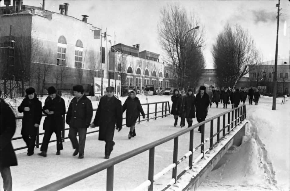 ОТЗ. Конец смены, 1976 год. Фото: Борис Семенов