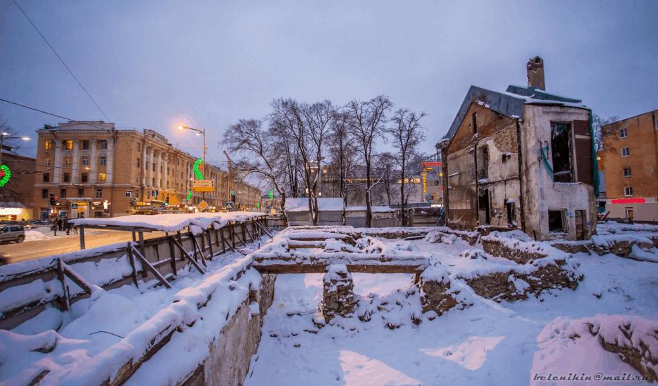 Здание детской поликлиники. Январь 2018-го. Фото: Д. Беленихин
