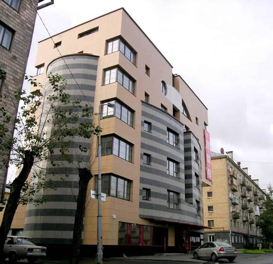 Жилой дом на улице Свердлова