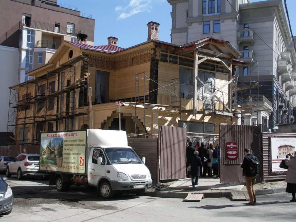 Дом 1911 года в Казани. Апрель 2016 года. Фото: Ирина Гришина