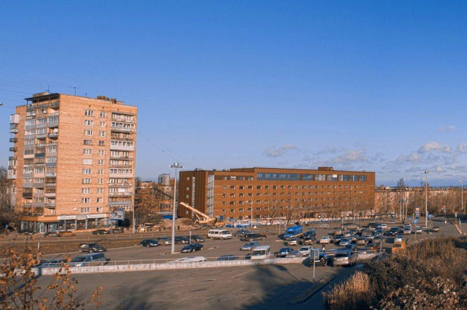 Обновленное здание Петрозаводской государственной консерватории. Октябрь 2017 года. Фото: Иван Лукконен