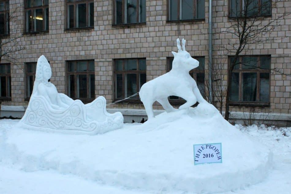 Зимние сказки Гипербореи