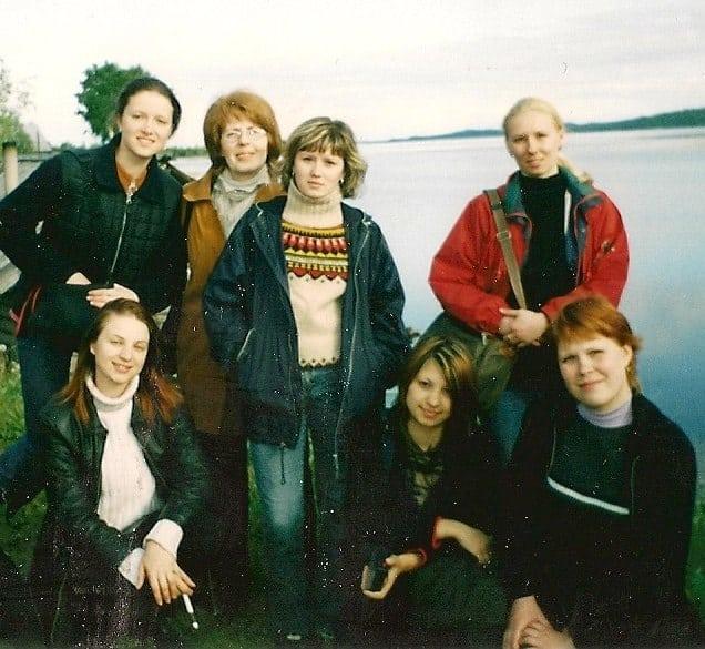 Экспедиция в село Шуньга. 2003 год