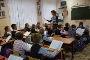 Занятия в одну смену - мечта всех родителей, учителей и директоров школ. Фото Марии Голубевой