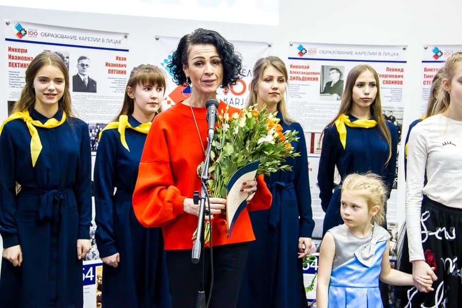 Директор педколледжа Оксана Старшова завершает юбилейную коллегию
