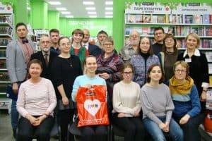 Участники и организаторы конкурса, писатели. Фото Юлии Свинцовой