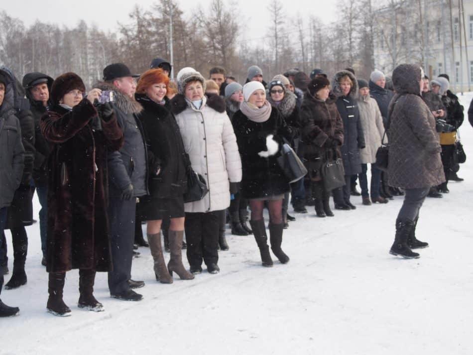 В Петрозаводске состоялась передача новых школьных автобусов