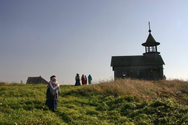 В Заонежье. Фото Ирины Ларионовой