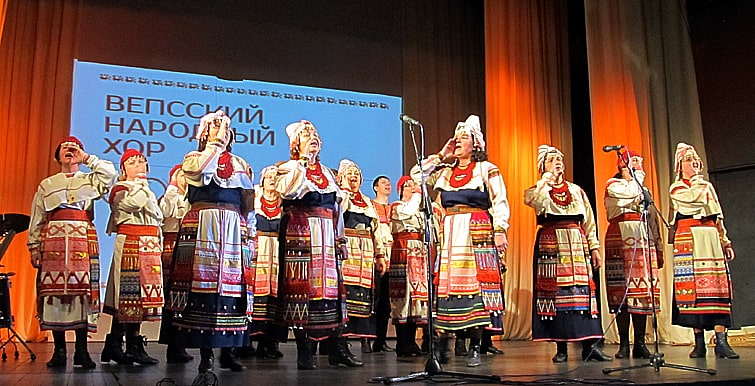 Один из старейших коллективов Карелии Вепсский народный хор