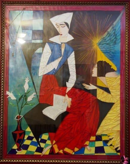 Марина Сысоева. Копия с работы Георгия Курасова в технике квиллинга