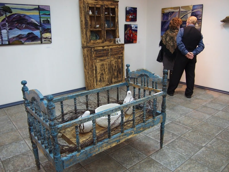 На выставке «Всё будет хюгге!» в Городском выставочном зале Петрозаводска. Фото Ирины Ларионовой