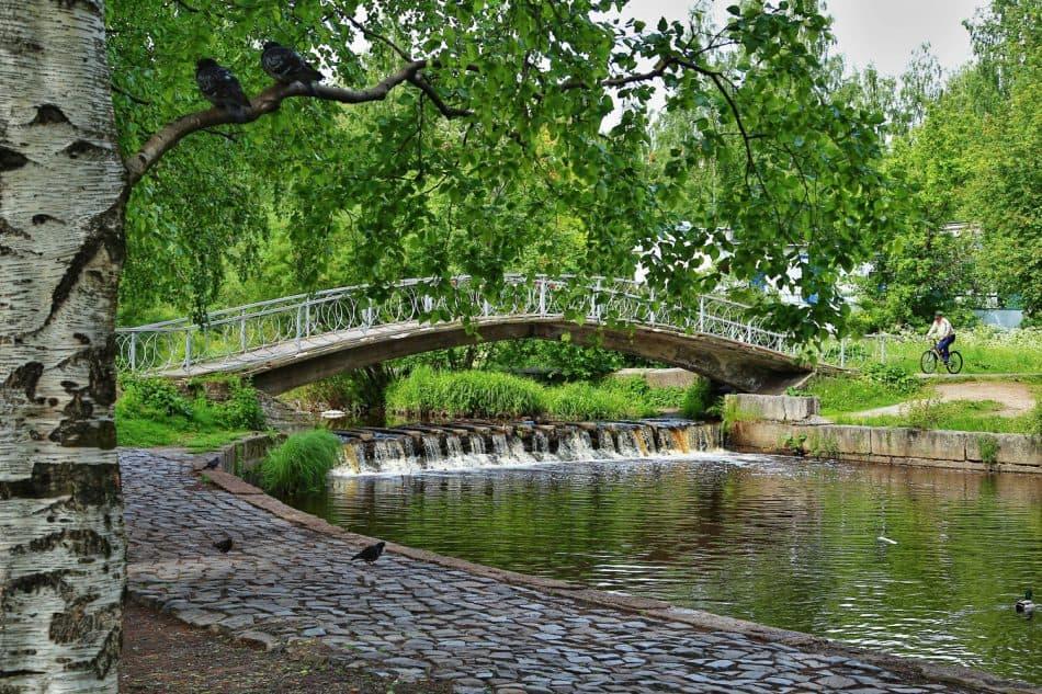 Парк на Неглинке, плотина-запруда. Фото: С. Сыроедов