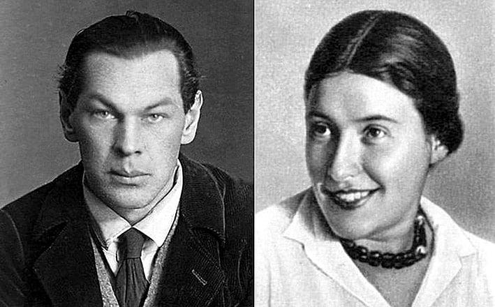 Катя Максимова и Рихард Зорге