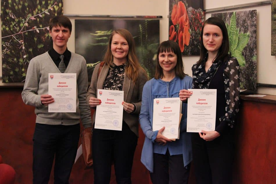 Победители конкурса научных работ. Фото с сайта КарНЦ РАН