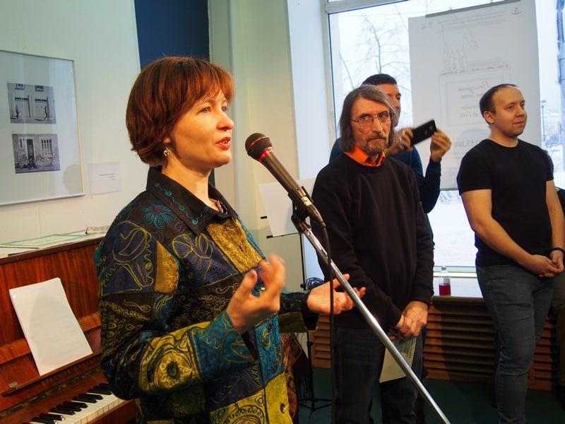 Наталья Лаврушина, представитель администрации Петрозаводска, рассказала историю 45-летней дружбы между Петрозаводском и Ла-Рошелью
