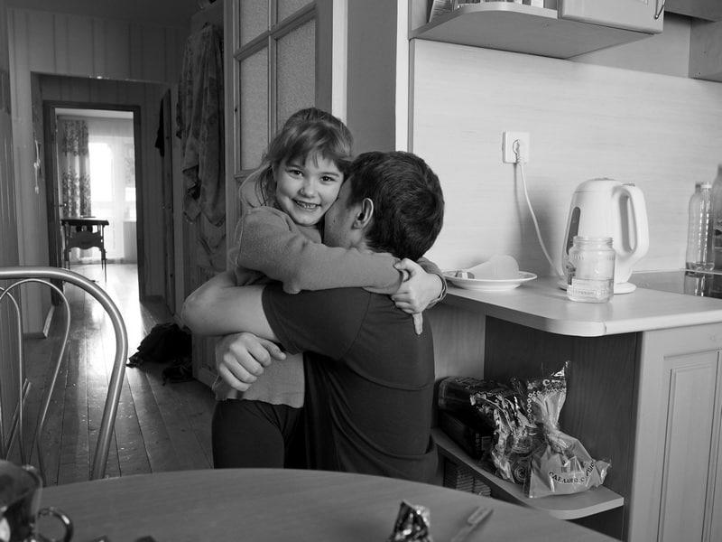 Ульяна обожает своего отца