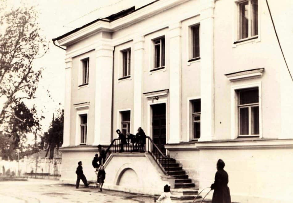 Узел связи погранвойск на ул. Дзержинского
