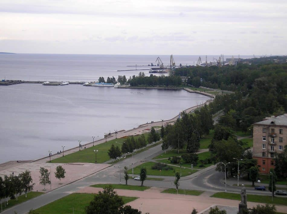 Северная часть парка Победы у пр. Ленина Архитектор Юрий Карма