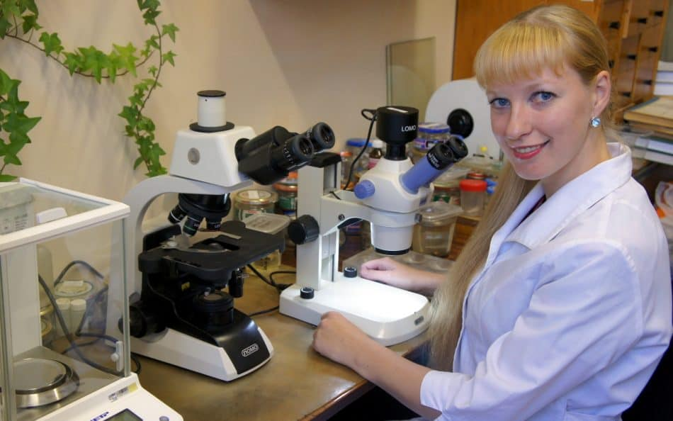 Гидробиолог Анастасия Сидорова. Фото из личного архива