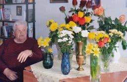 Паула Александровна Хамильтон в свой день рождения