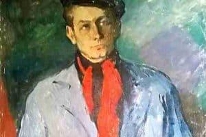 Б.Г. Биргер. Портрет поэта Е.А. Евтушенко. 1959. Фрагмент. Фото: пресс-служба ГТГ