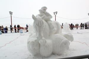 Конкурс снежных и ледовых скульптур «Гипербореи-2018» назвал победителей