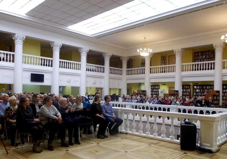 Слушатели на концерте Любительского хора Карельской филармонии