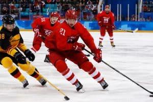 инальный матч Россия - Германия по хоккею среди мужчин на XXIII зимних Олимпийских играх
