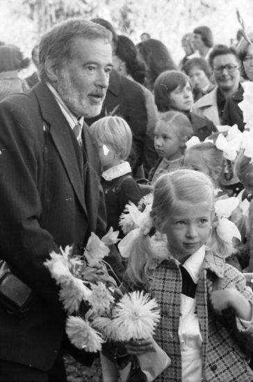 Игорь Румянцев с дочерью Илоной. Фото Бориса Семенова